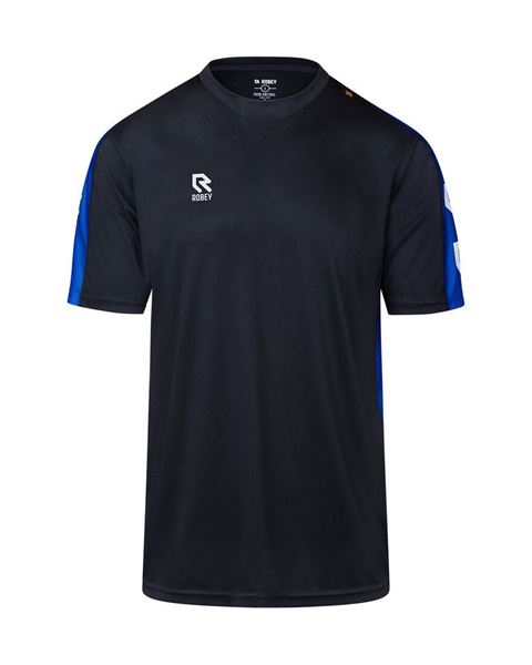 Afbeelding van Robey Performance Trainingsshirt - Zwart/ Blauw