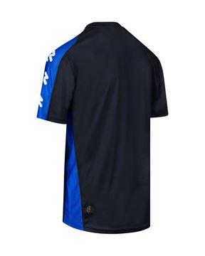 Afbeeldingen van Robey Performance Trainingsshirt - Zwart/ Blauw