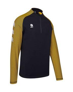 Robey Training Sweater - Zwart/Geel