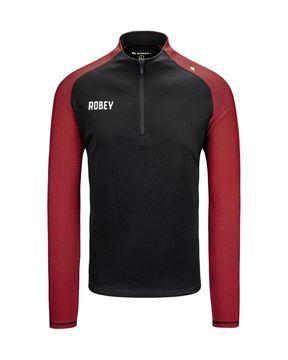 Robey Training Sweater - Zwart/Rood