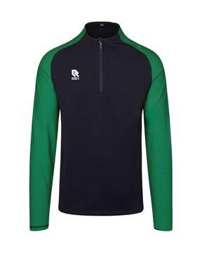 Robey Training Sweater - zwart/groen - kinderen