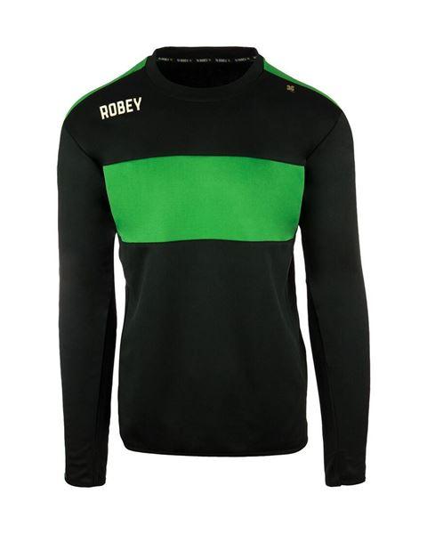 Afbeelding van Robey Performance Sweater - Zwart/Groen