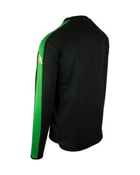 Robey Performance Training Sweater - Zwart/Groen
