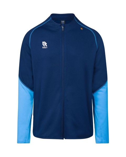 Robey Performance Full Zip Trainingsjack - Navy/Lichtblauw
