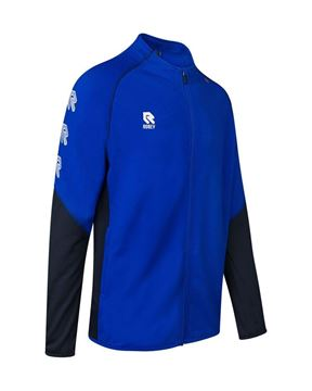 Robey Performance Full Zip Trainingsjack - Blauw/Zwart