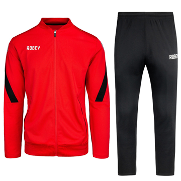 Robey - Counter Trainingspak - Rood/ Zwart
