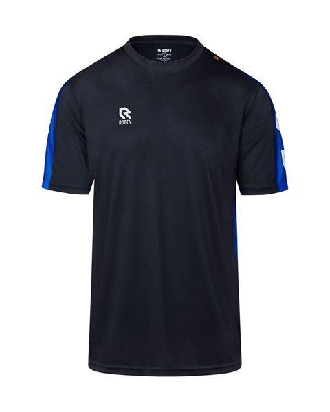 Afbeelding van Robey Performance Trainingsshirt - Zwart/ Blauw - Kinderen